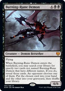Burning-Rune Demon