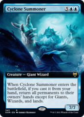 Cyclone Summoner - Extended Art