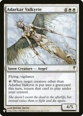Adarkar Valkyrie - The List
