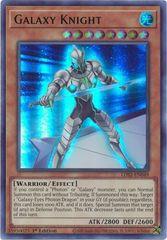 Galaxy Knight (Green) - LDS2-EN049 - Ultra Rare - 1st Edition