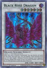 Black Rose Dragon (Green) - LDS2-EN110 - Ultra Rare - 1st Edition