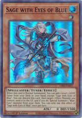 Sage with Eyes of Blue (Purple) - LDS2-EN011 - Ultra Rare - 1st Edition