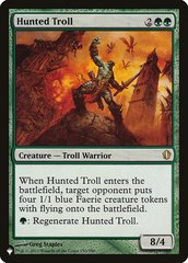 Hunted Troll - The List