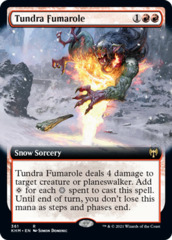 Tundra Fumarole - Extended Art