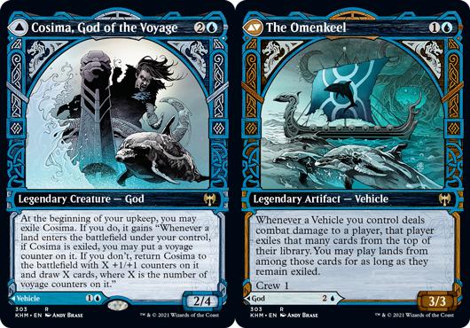 Cosima, God of the Voyage // The Omenkeel - Showcase