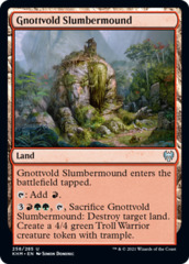 Gnottvold Slumbermound - Foil