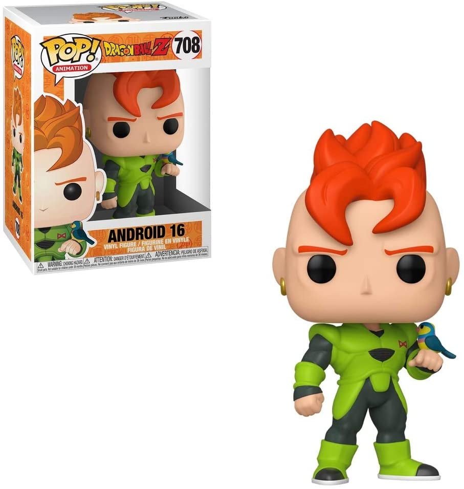 Animation Series - #708 - Android 16 (Dragonball Z)