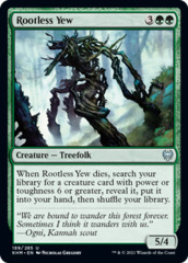 Rootless Yew - Foil