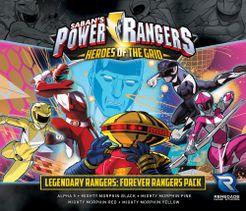 Power Rangers: Heroes of the Grid - Legendary Ranger Forever Rangers