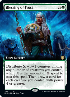 Blessing of Frost - Extended Art