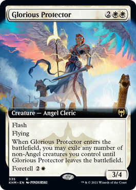 Glorious Protector - Foil - Extended Art