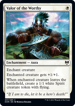Valor of the Worthy - Foil