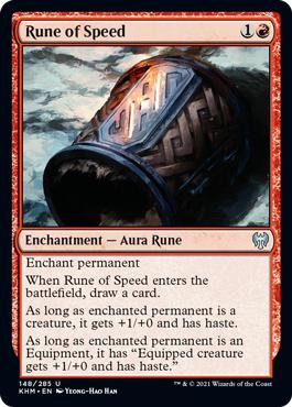 Rune of Speed - Foil