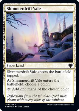Shimmerdrift Vale - Foil
