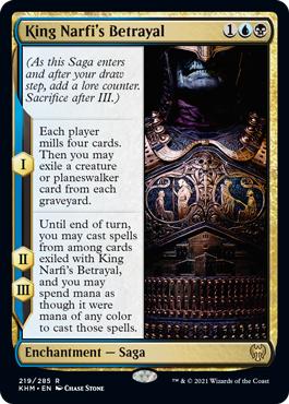 King Narfis Betrayal - Foil