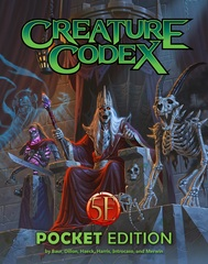 Creature Codex Pocket Edition - 5th Edition