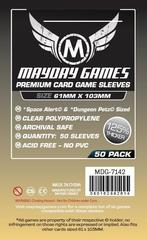 Mayday - Premium Space Alert and Dungeon Petz Card Sleeves (61x103mm) 50ct