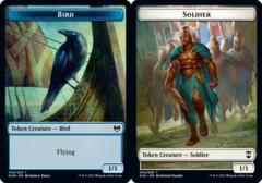Bird Token (005) // Soldier Token