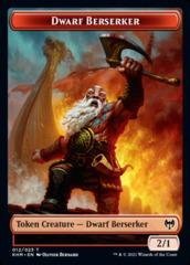 Dwarf Berserker Token
