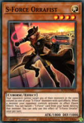 S-Force Orrafist - BLVO-EN013 - Super Rare - 1st Edition