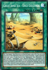 Great Sand Sea - Gold Golgonda - BLVO-EN055 - Super Rare - 1st Edition