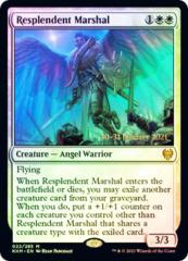 Resplendent Marshal - Foil - Prerelease Promo