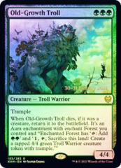 Old-Growth Troll - Foil - Prerelease Promo