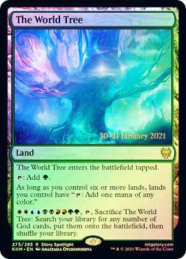 The World Tree - Foil - Prerelease Promo