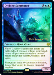 Cyclone Summoner - Foil - Prerelease Promo