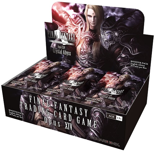 Final Fantasy TCG Opus XIV Crystal Abyss Booster Box