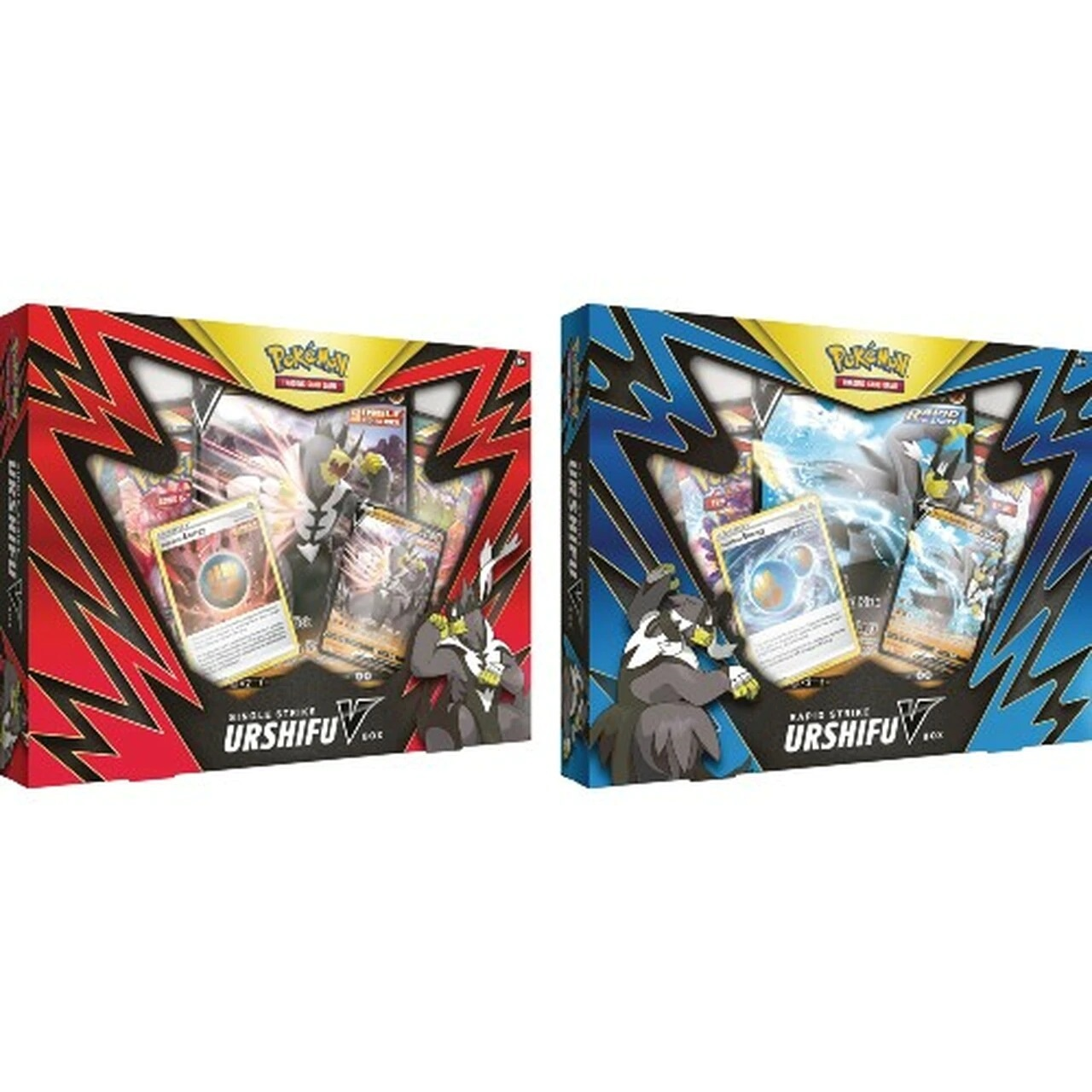 Single Strike and Rapid Strike Urshifu V Box (Set of 2)