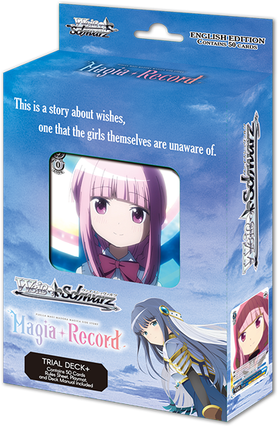 TV Anime: Magia Record: Puella Magi Madoka Magica Side Story Trial Deck+