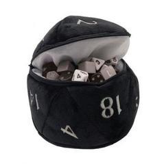 Ultra Pro - D20 Plush Dice Bag - Black