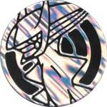 Arceus Collectible Coin - Silver Smoke Holofoil (Generation 4) Japanese Battle Road