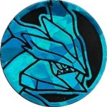 Black Kyurem Collectible Coin - Blue Cracked Holofoil (Generation 5)