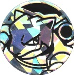 Blastoise Collectible Coin - Silver Cracked Ice Holofoil (Generation 5)
