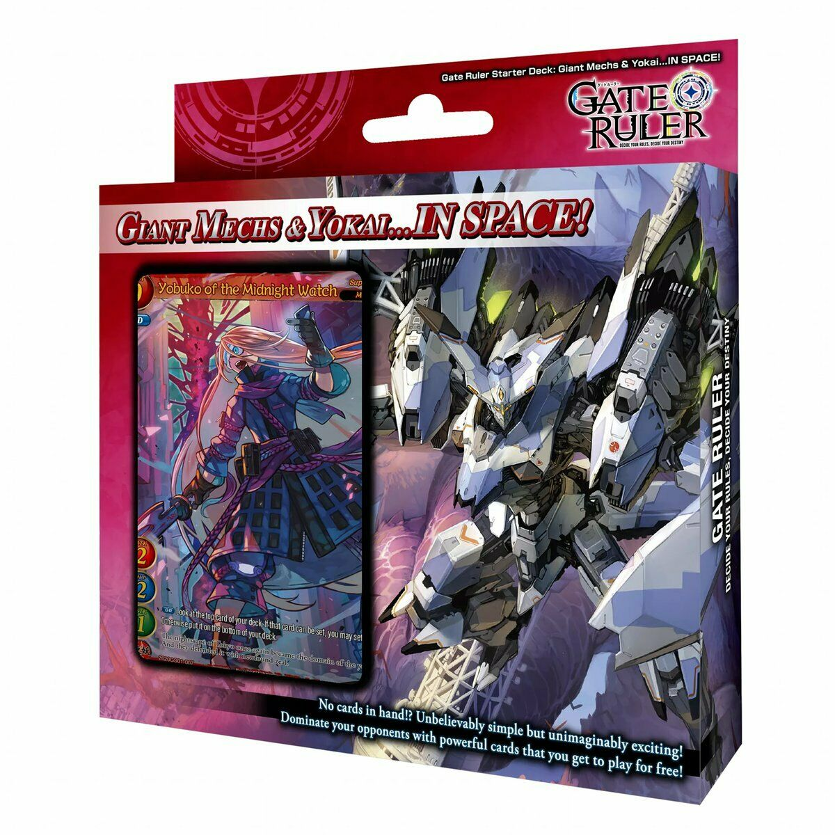 Starter Deck: Giant Mechs and Yokai in Space!