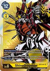 ShineGreymon - BT2-041 - SR - Alternative Art