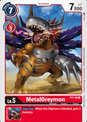 MetalGreymon - ST1-09 - R - Alternative Art