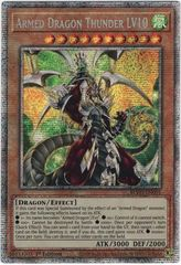 Armed Dragon Thunder LV10 - BLVO-EN001 - Starlight Rare - 1st Edition