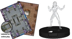 HeroClix: Fantastic Four - Future Foundation Play at Home Kit LIMIT 1 PER CUSTOMER