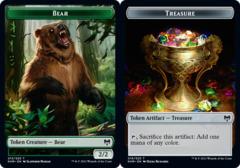 Bear Token // Treasure Token - Foil