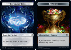 Replicated Ring // Treasure Token - Foil