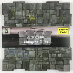 Dry Erase Dungeon Tiles - Booster Pack - Graystone