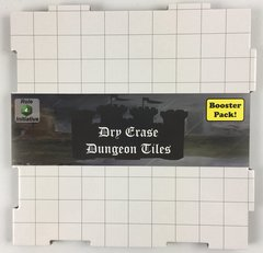 Dry Erase Dungeon Tiles - Booster Pack - White