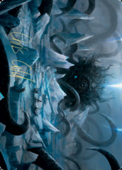 Icebreaker Kraken Art Card - Gold-Stamped Signature