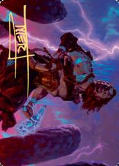 Toralf, God of Fury Art Card - Gold-Stamped Signature