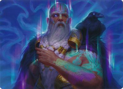 Alrund, God of the Cosmos Art Card