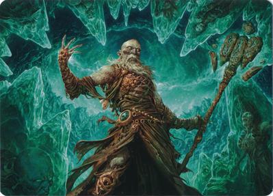 Draugr Necromancer Art Card