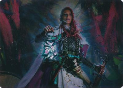 Tergrid, God of Fright Art Card